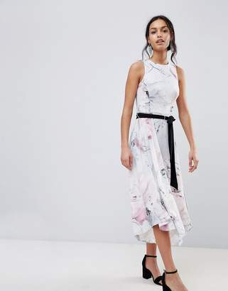 Coast Soft Floral Print Swing Dress