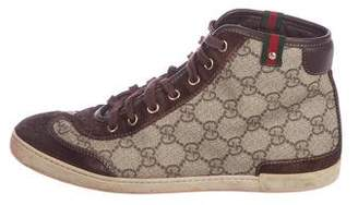 Gucci GG High-Top Sneakers
