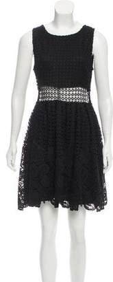 Aqua Lace Mini Dress w/ Tags