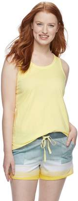 Sonoma Goods For Life Women's SONOMA Goods for Life Printed Tank & Shorts Pajama Set