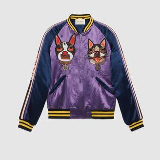 Gucci Men's bomber with Bosco and Orso