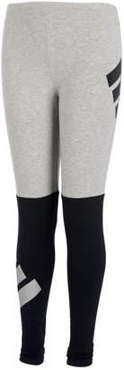 adidas Big Girls Colorblocked Logo Leggings