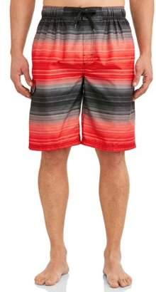 c0e32a2496 Kanu Surf Men's Haywire Print Long Trunk Swimsuit