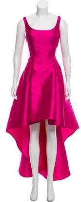 Nicole Miller Asymmetrical Evening Dress