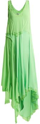 Balenciaga Round-neck draped dress