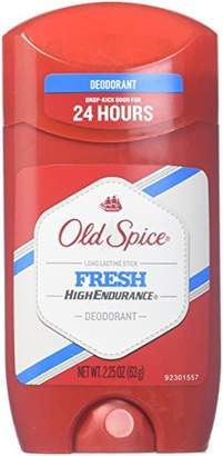 Old Spice High Endurance Deodorant Long Lasting Stick Fresh 2.25 oz (Pack of 12)