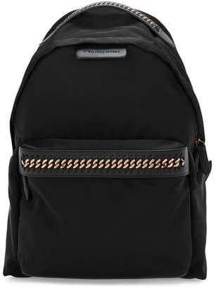 Stella McCartney Falabella Black Nylon Backpack