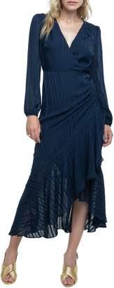 ASTR the Label Side Cinched Ruffle Hem Dress