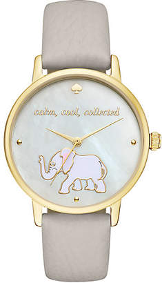 Calm cool collected metro watch $195 thestylecure.com