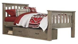 Hillsdale Furniture Highlands Harper Panel Bed with Storage