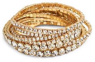 Cezanne Crystal Multistrand Stretch Bracelet