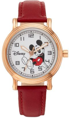 Disney's Mickey Mouse Women's Leather Watch $49.99 thestylecure.com