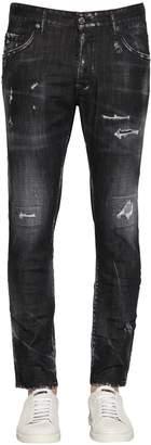 DSQUARED2 16cm Icon Skater Distressed Denim Jeans