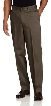 Savane Men's Flat Front Performance Chino Pant