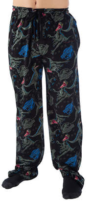 Novelty Licensed Jurassic Park Jersey Pajama Pants - Big and Tall