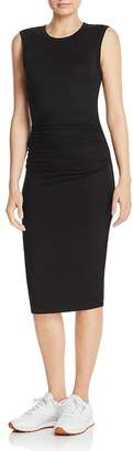 Enza Costa Ruched Jersey Tank Dress