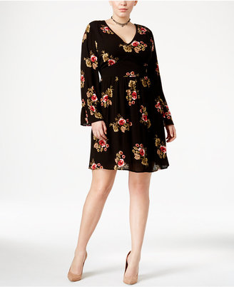 American Rag Trendy Plus Size Peasant Dress, Only at Macy's $69.50 thestylecure.com