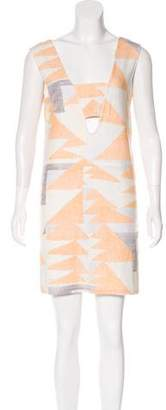Mara Hoffman Print Sleeveless Mini Dress
