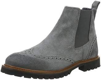 Marc O'Polo Women's 61012905002300 Flat Heel Chelsea Ankle Boots, (Grey 920), 4