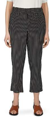 Gerard Darel Marie Striped Cropped Pants
