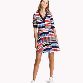 Tommy Hilfiger V-Neck Dress