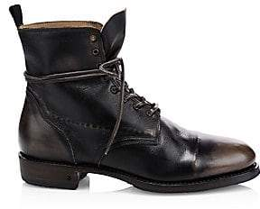 84dcc180d203 John Varvatos Men s Folsom Leather Lace-Up Boot