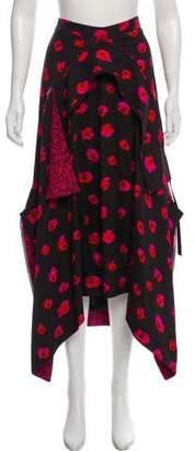 Proenza Schouler Printed Maxi Skirt