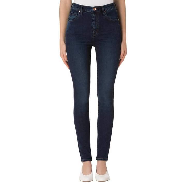 Throne Navy Carolina Skinny Stretch Jeans