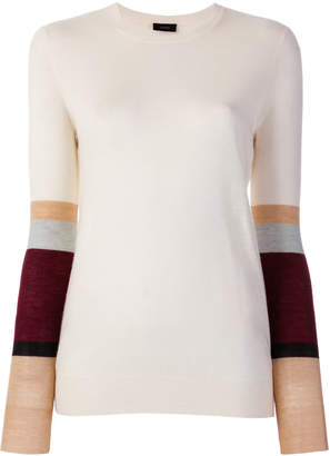 Joseph colour block jumper