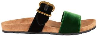 Prada Buckled Flat Sandals
