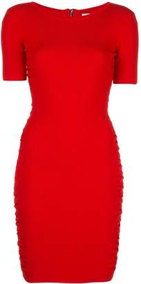 Milly ruched mini dress