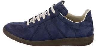 Maison Margiela Lambskin Low-Top Sneakers