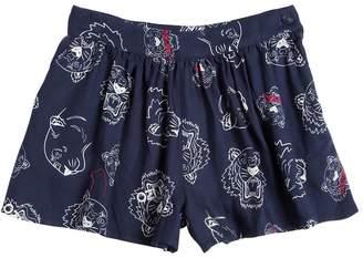 Kenzo Tiger Printed Viscose Shorts