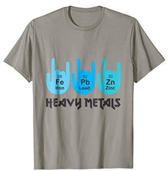 Heavy Metals Funny T-Shirt Periodic Table Science