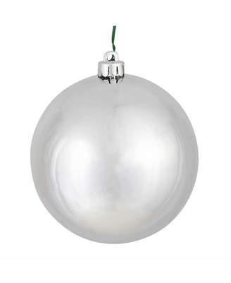 "Vickerman 2.75"" Silver Shiny Ball Christmas Ornament, 12 Per Bag"