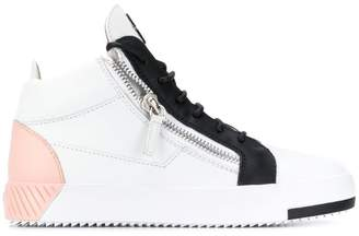 Giuseppe Zanotti lace-up high top sneakers