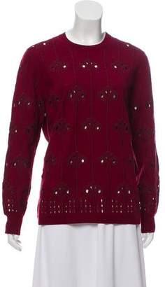 Dries Van Noten Cut-Out Lightweight Sweater