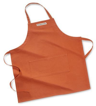 Personalized Adult Fitted Apron, Pumpkin