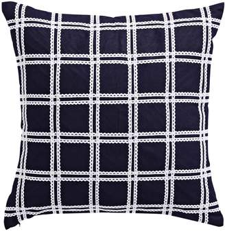 Kate Spade Checked Down Square Pillow