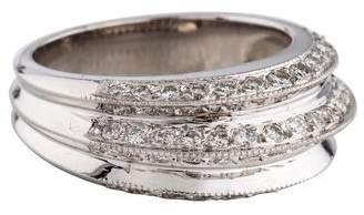 Ring 14K Diamond Knife Edge