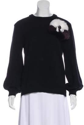 Fendi Cashmere Long Sleeve Sweater