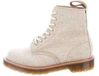 Dr. Martens Canvas Combat Boots