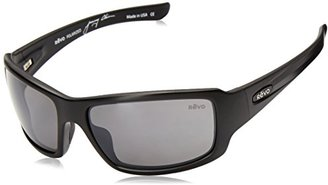 Revo Bearing RE 4057 01 GN Polarized Rectangular Sunglasses $178.45 thestylecure.com