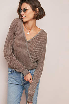 Line & Dot Campania Surplice Sweater