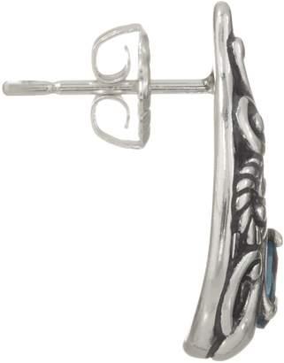 Carolyn Pollack Sterling Silver Pear Shape Gemstone Earrings
