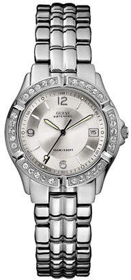 GUESS Polished Silver Watch