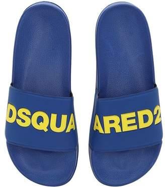 DSQUARED2 (ディースクエアード) - DSQUARED2 ラバースライドサンダル