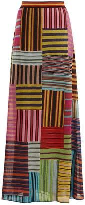 Missoni Patchwork Lamé skirt