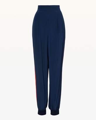 Juicy Couture Silk Side Stripe Slim Pant