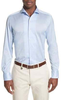 Canali Slim Fit Solid Sport Shirt